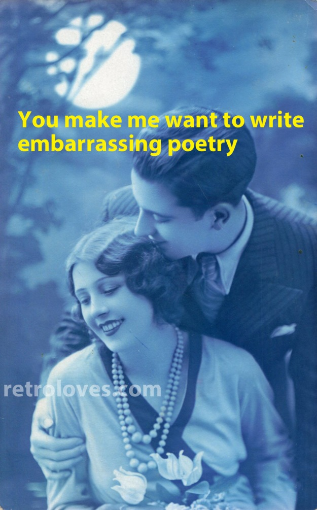 embarrassing poetry