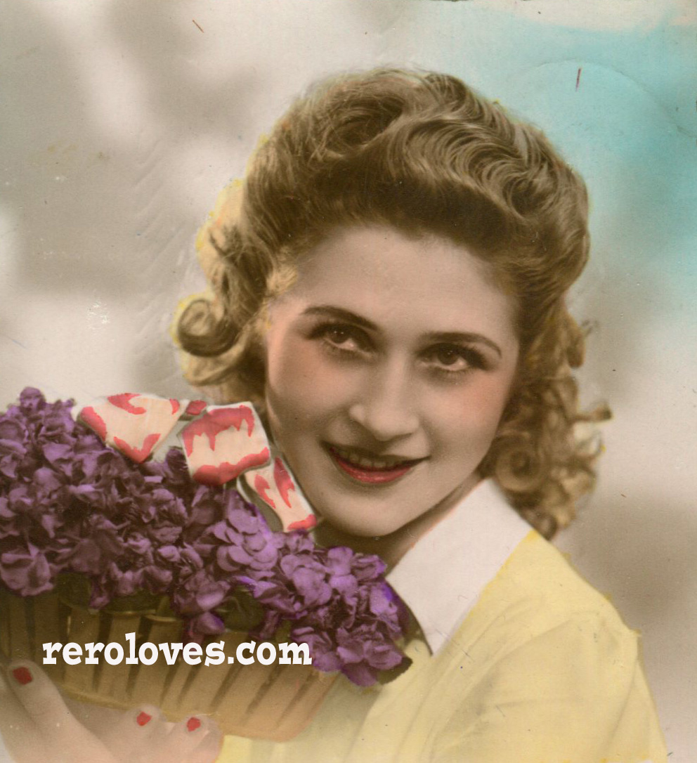 Pin 1940s Hairstyles Vintage Living Series Fashion Videos on Pinterest