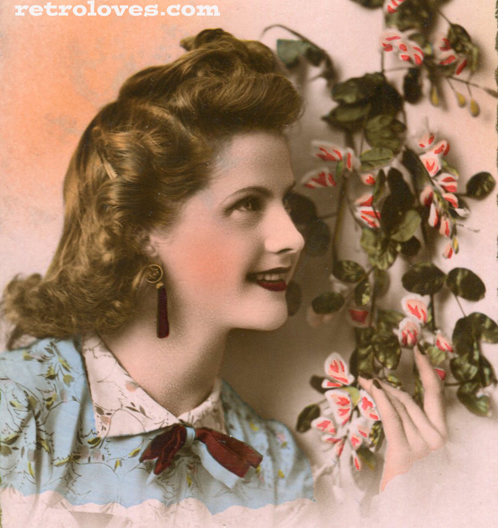 1940s Womens Hairstyles Men And Women Hairstyle | LONG HAIRSTYLES