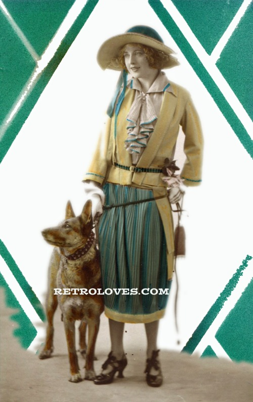 1920S-DOG-LADY-FASHION