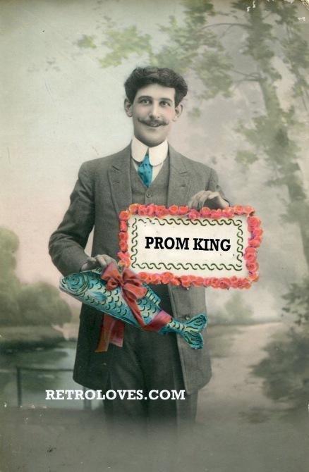 EDWARDIAN PROM KING
