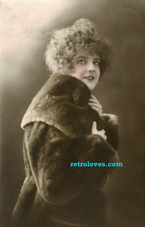 1920's fur coat